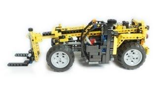 Lego Technic small Telehandler