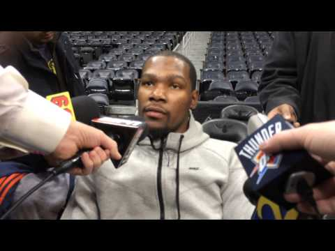 Durant: Shootaround in Atlanta