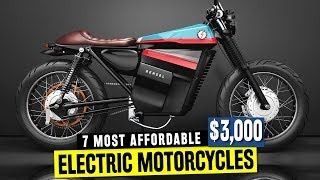 7 Electric Motorcycles w/ Good Pricing in 2018: feat. Tork T6X and Sur-Ron Bike