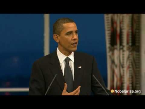 2009 Nobel Peace Prize Lecture by Barack Obama