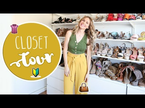 Closet Tour - Vanesa Romero TV