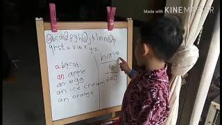 Learn English for Kids -- a and an