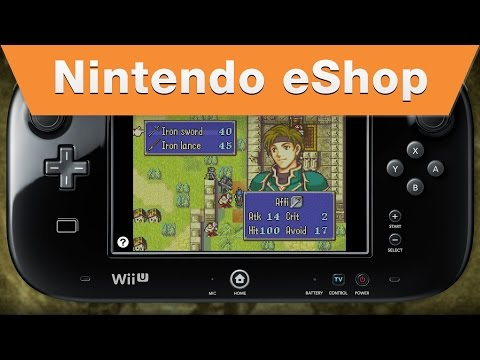Nintendo eShop Fire Emblem on the Wii U Virtual Console