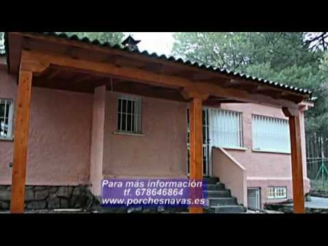 Porches de madera detalles youtube - Porches en madera ...