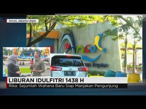 Suasana Liburan Lebaran di Ancol dan Cihampelas, Bandung - Live Report