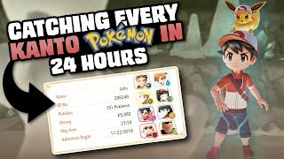 HOW EASILY CAN YOU CATCH EVERY POKEMON IN LET'S GO PIKACHU/EEVEE?