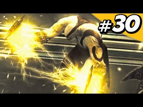God of War 4 Ascension Walkthrough Part 30 - Elevator of Souls [GoW 4]