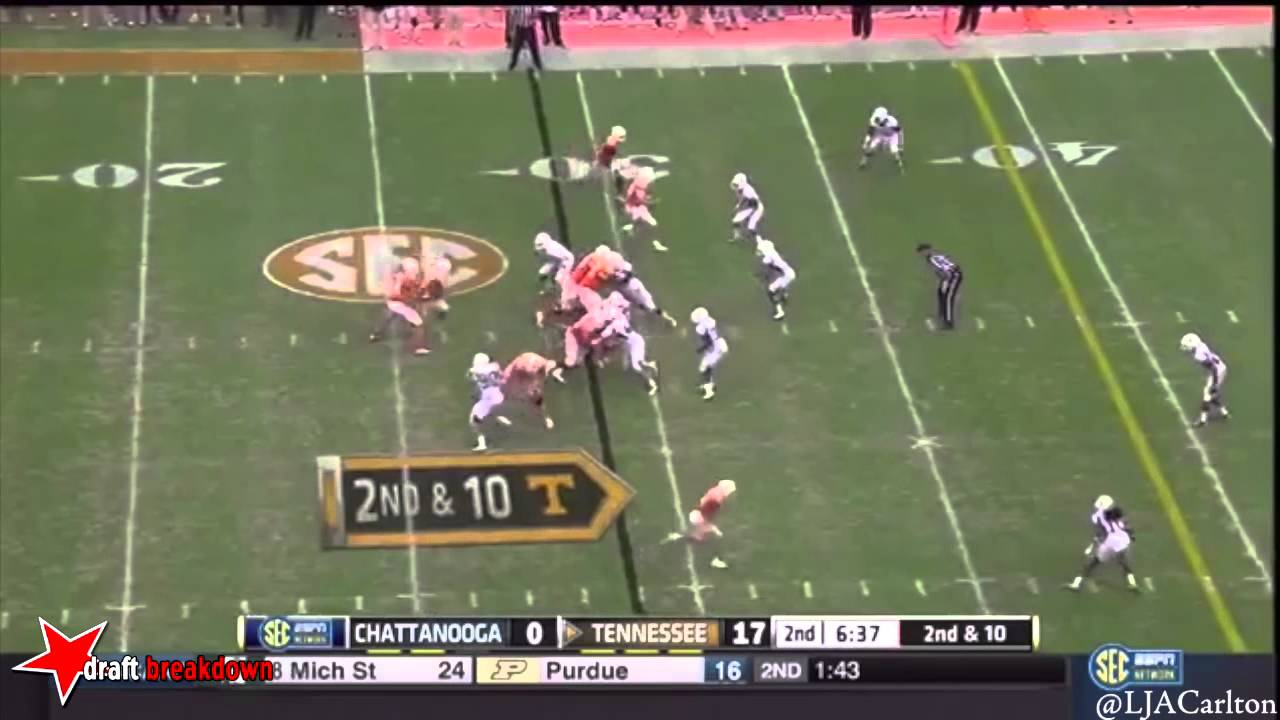 Davis Tull vs Tennessee (2014)