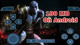 190 MB GOD OF WAR 2 HIGHLY COMPRESSED FOR ANY ANDROID DEVICE || IN HINDI ||