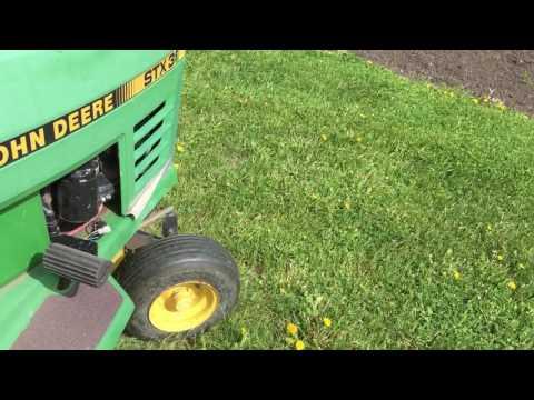 John Deere STX 38 Riding Mower