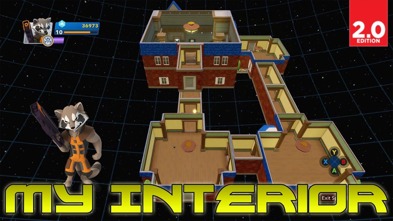 My interior disney infinity 2 0 marvel super heroes gameplay