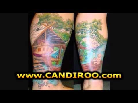Tatuajes en la Pierna de Mujer y Hombre