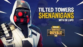 Tilted Towers Shenanigans With Dr Lupo!! - Fortnite Battle Royale Gameplay - Ninja