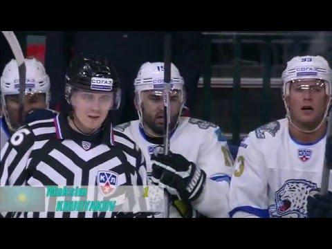 Top 10 KHL Goals for Kazakhstan