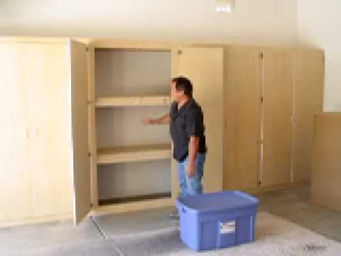 Garage Storage Cupboard Plans