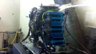 F1 - 2.5 L Mercury Dyno Run (10100 rpm)