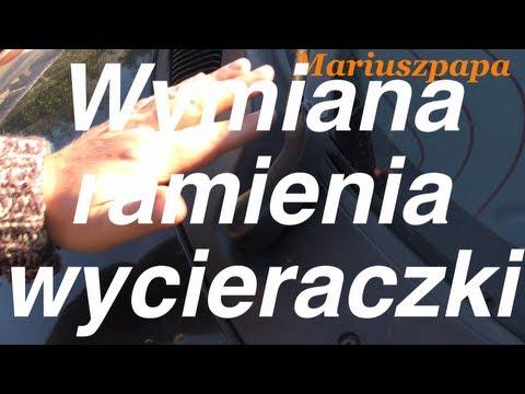 Porady Samochodowe.Wymiana Ramienia Wycieraczki.