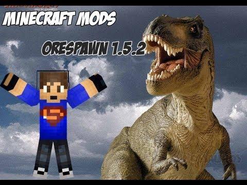 [MINECRAFT MODS] Mods Craftaveis - OreSpawn 1.5.2 (pasta .minecraft 1.5.2)