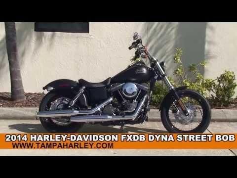 New 2014 Harley Davidson Street Bob Motorcycle for Sale - Pensacola, FL