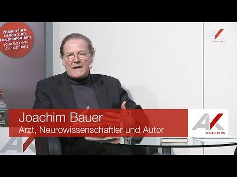 Joachim Bauer: Selbststeuerung – Die Wiederentdeckung des freien Willens