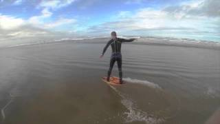 Oregon Coast Skimboarding