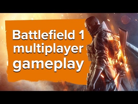 45 minutes of Battlefield 1 multiplayer gameplay (PC gameplay)