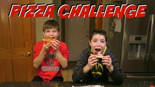 THE PIZZA CHALLENGE - KID EDITION