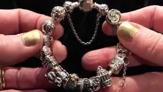 My Pandora Bracelet: Two Tone Silver & 14k Gold
