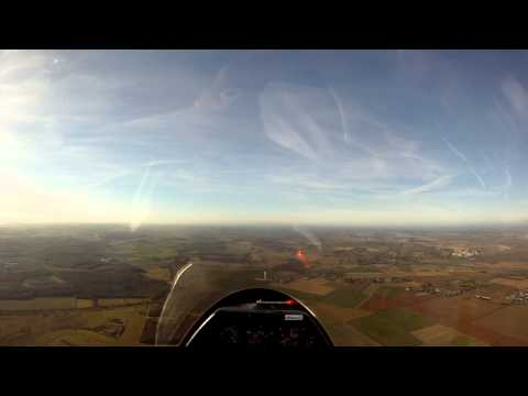 MY FULL FLIGHT IN A K21 GLIDER AT RAF WITTERING