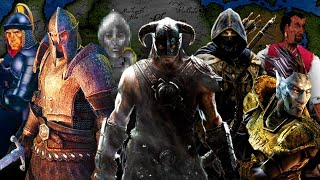 The Elder Scrolls The Complete Saga Theme Mashup