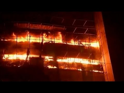 Fire Destroys Natural History Museum in New Delhi