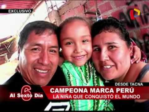 Keit Maquera, La Niña Peruana Que Conquistó Al Mundo
