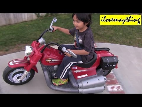 Motorcycle Power Wheels - Harley Davidson