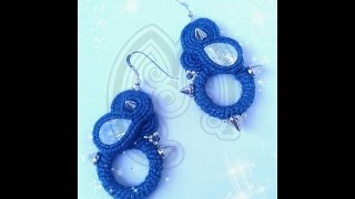 SOUTACHE: TUTORIAL orecchini Devil