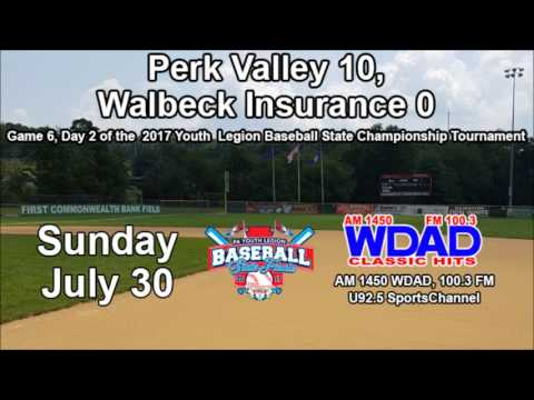 PA Youth American Legion State Baseball Championship Tournament: Game 6 Recap