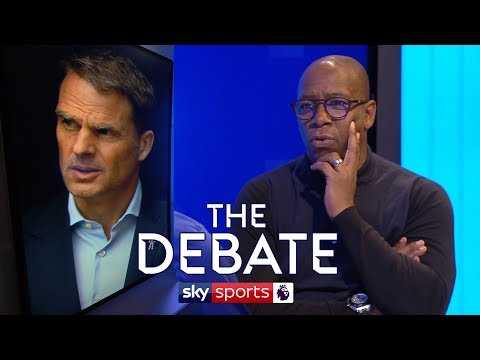 Why did De Boer get sacked? | Ian Wright & Alan Pardew | The Debate