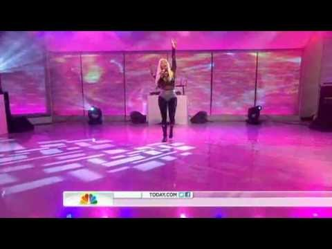 Nicki Minaj On Today Show - Performs starships & right By My Side video