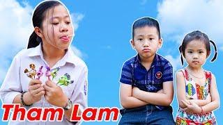 Trò Chơi Cô Giúp Việc Tham Lam Bài Học Cho Bé - Bé Nhím TV - Đồ Chơi Trẻ Em Thiếu Nhi