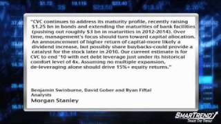 Analyst Insight: Morgan Stanley Lifted Its PT For Cablevision Systems To $29