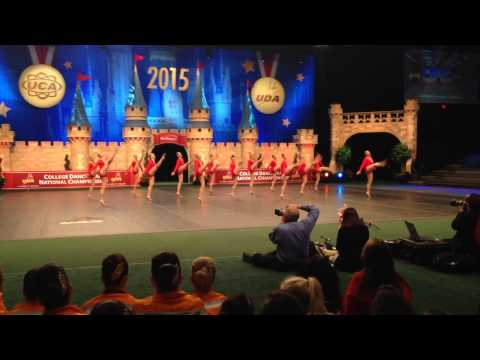 Cal State Fullerton Dance Team 2015 Uda D1 Jazz National
