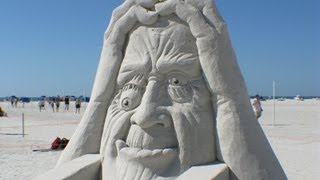 American Sandsculpting Championship on Fort Myers Beach
