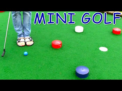 Mini Golf - Let's Play (FOR REAL) - Cave Course | Matt3756