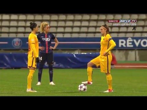 [ESP] PSG - FC Barcelona (UEFA Women Champions League) 1-0