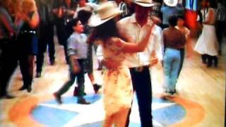 Birdie Pruit Dances with Justin Metease from HOPE FLOATS