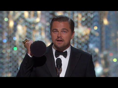 Oscars 2016 Leonardo DiCaprio Wins best Actor - Speech 2016 VOSTFR [HD] QUALITY