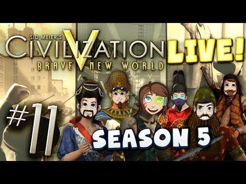 Civ 5 Live Part 11 - Here's Xephos