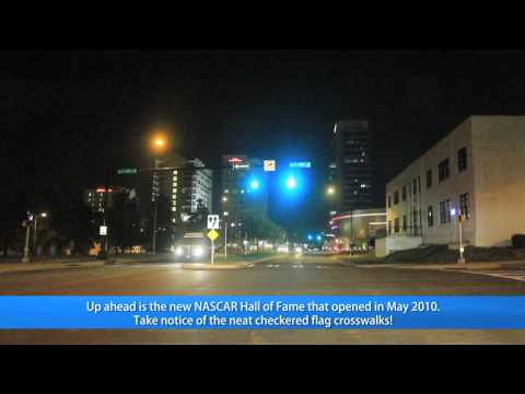 Uptown Charlotte, NC Night Tour (HD)