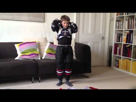 How To Put On Ice Hockey Kit