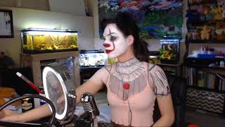 Pooflower - Pennywise/Emili face/body painting (sped up version)
