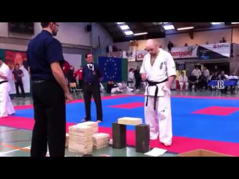 Kyokushin: breaking Wood Image 1